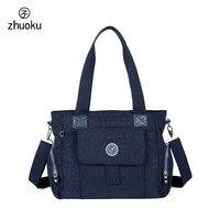 Brand Design Female Bag Monkey Pendant Handbag Bolsos Mujer High Quality Nylon Bag Shoulder Bag Women