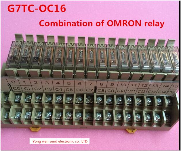 HOT NEW relay G7TC-OC16 G7TCOC16 Combination of OMRON relay 1PCS/LOT [zob] new original omron omron beam photoelectric switch e3jk tr12 c 2m 2pcs lot