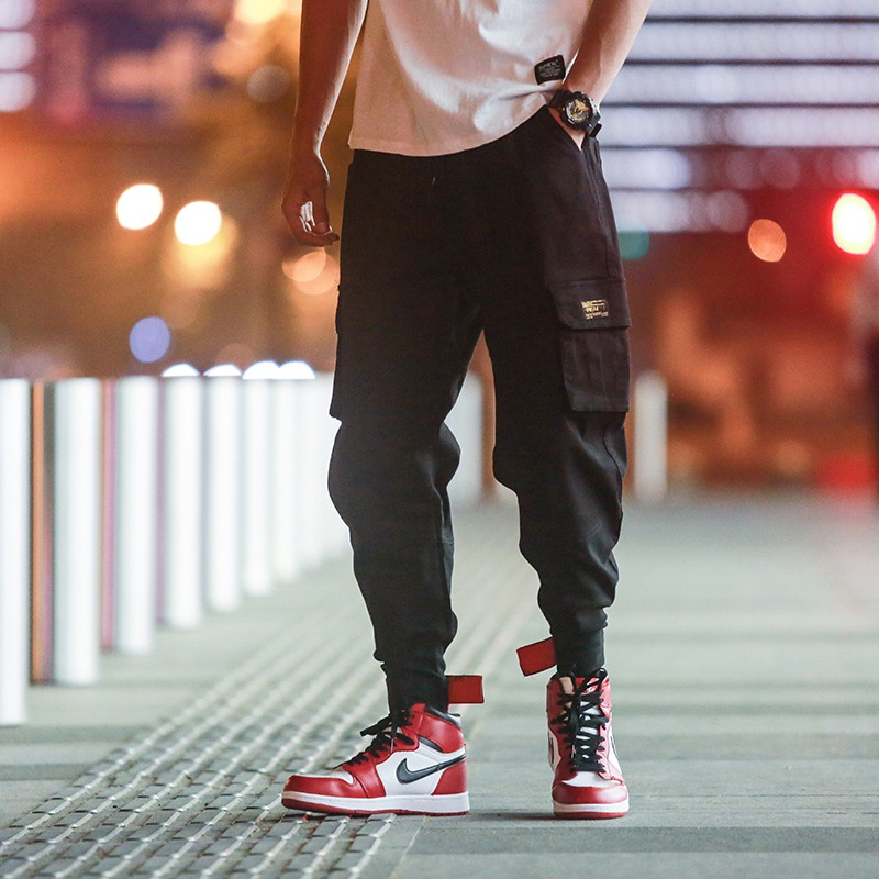 8f71006d4c0 Privathinker Cargo Pants Men 2018 Mens Streetwear Joogers Pants Black  Sweatpant Male Hiphop Autumn Pockets Trousers