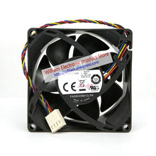 Original Cooler Master FA08025M12LPA 12V 0.45A 8CM 80*80*25MM 4 wire PWM hydraulic mute selling CPU fan ultra strong wind original 24v 8cm 1 63a pfb0824dhe four wire pwm inverter fan