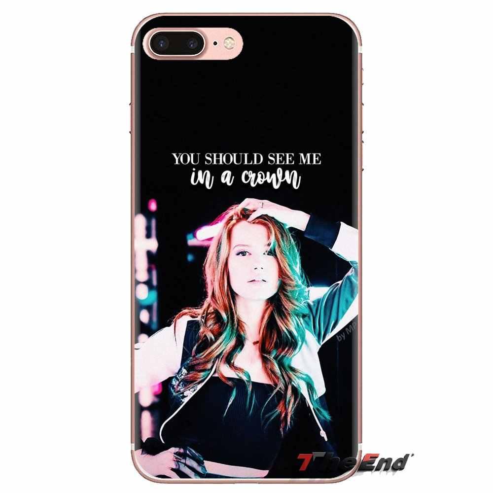 tv riverdale cheryl blossom For LG Spirit Motorola Moto X4 E4 E5 G5 G5S G6 Z Z2 Z3 G2 G3 C Play Plus Mini Transparent TPU Covers