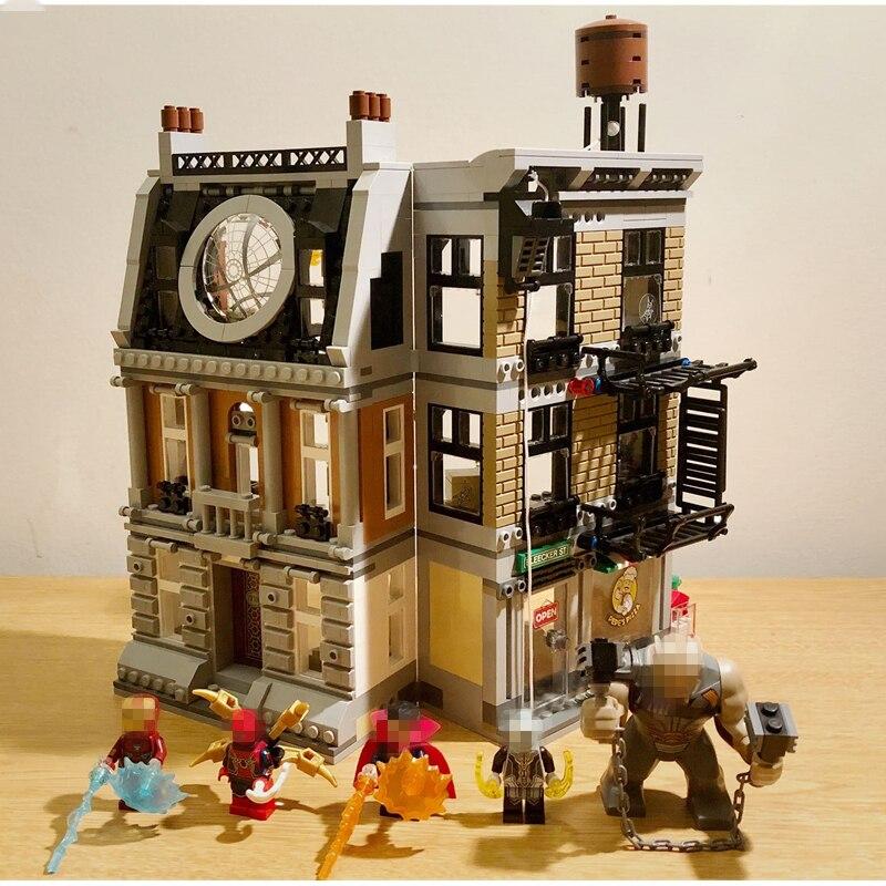 Avengers Infinity War Super héros Sanctum Sanctorum Showdow jeu de construction film enfants jouets Marvel Compatible Legoings