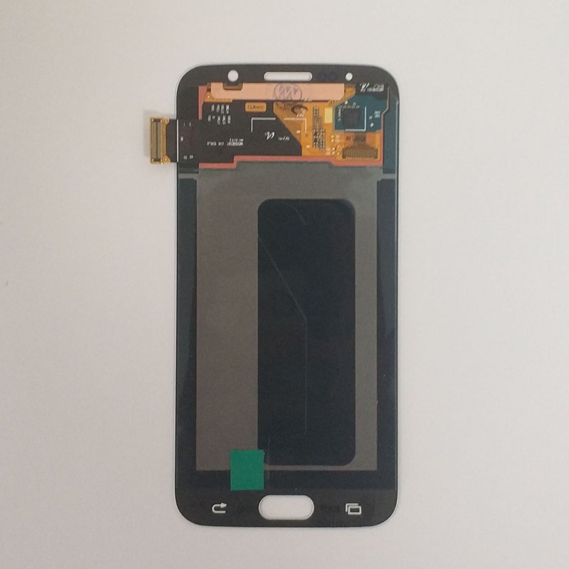 Écrans LCD Super AMOLED pour Samsung GALAXY S6 G920 G920F LCD écran tactile numériseur assemblée + outils + bande - 2