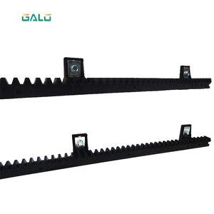 Image 4 - GALO nylon gear rack rail voor auto schuifpoort opener 1 m per pc 1 bestelling