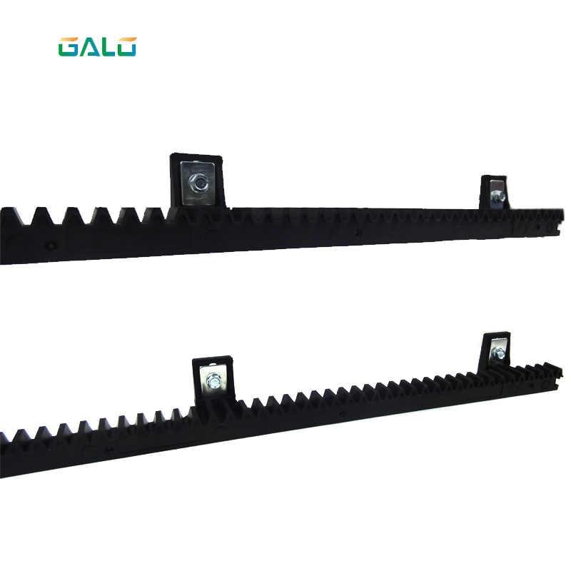 GALO-rail de crémaillère en nylon   Pour ouvre-porte coulissant auto 1 m par pièce 1 commande