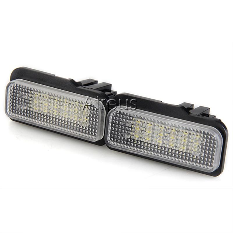 Atreus Mobil LED Lampu Plat Untuk Mercedes W211 W203 5D W219 R171 - Lampu mobil - Foto 2