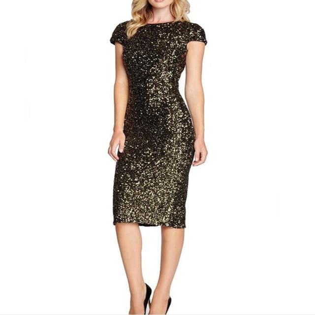 glitter jurk dames