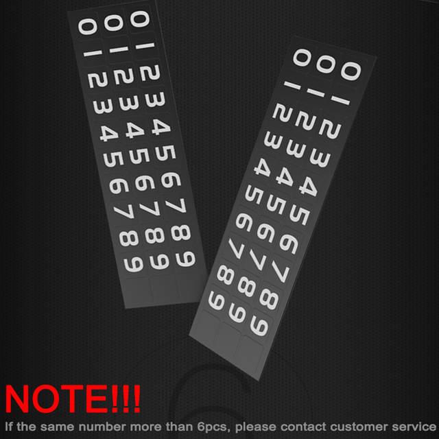 Luminous Car Temporary Parking Phone Number Plate Card Rotatable Hidden For  BMW F10 F18 F20 F30 F35 E60 E63 E64 E85 E86 E89 X3