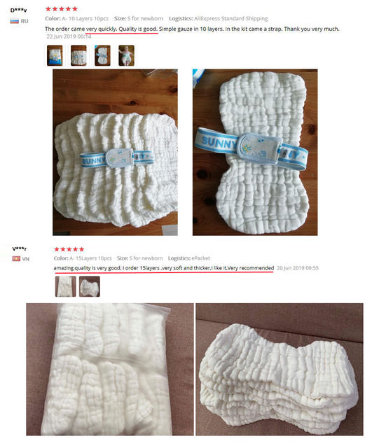 washable diaper inserts