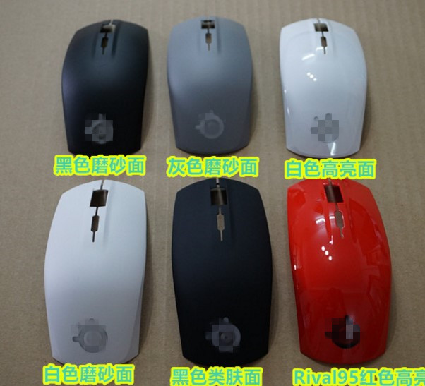 1 set new original mouse top shell mouse top case for Steelseries Rival 100 95 genuine mouse case mouse cover мышь steelseries rival 100 proton yellow usb [62340]