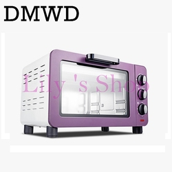 Multifunction Mini Bread Biscuits Cake Baking Machine Grill Electric Pizza Bakery Oven Timer Toaster 15 Liters 15L 1200W EU Plug