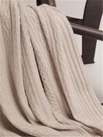 top grade 100%goat cashmere twisted thick heavy knit women big scarfs shawl pashmina 70x210cm ecru camel 3color 460g