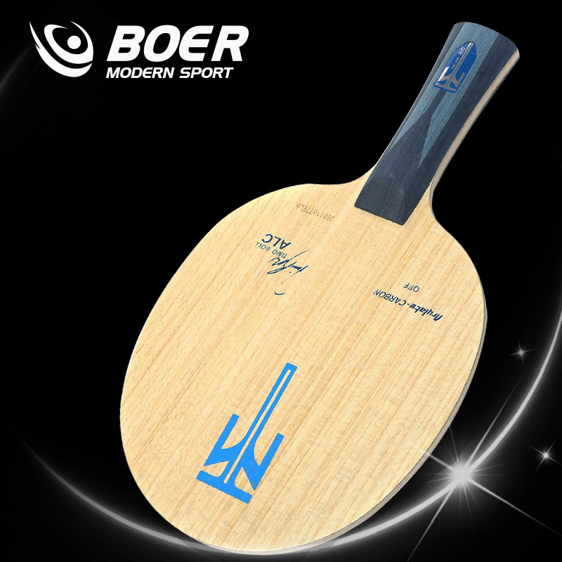 Boer ALC 7 layers wood and carbon fiber table tennis blade table tennis racket  ping pong pat