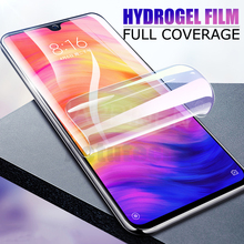 Full Cover Screen Protector Hydrogel Film On For Xiaomi Mi 9 8 SE A2 Lite Pocophone F1 Redmi Note 7 6 5 Pro Soft