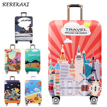 REREKAXI Luggage Suitcase Elastic Protective Cover, 18-32Inch Trunk Suitcase Case Cover,Baggage dust shell,Travel Accessories