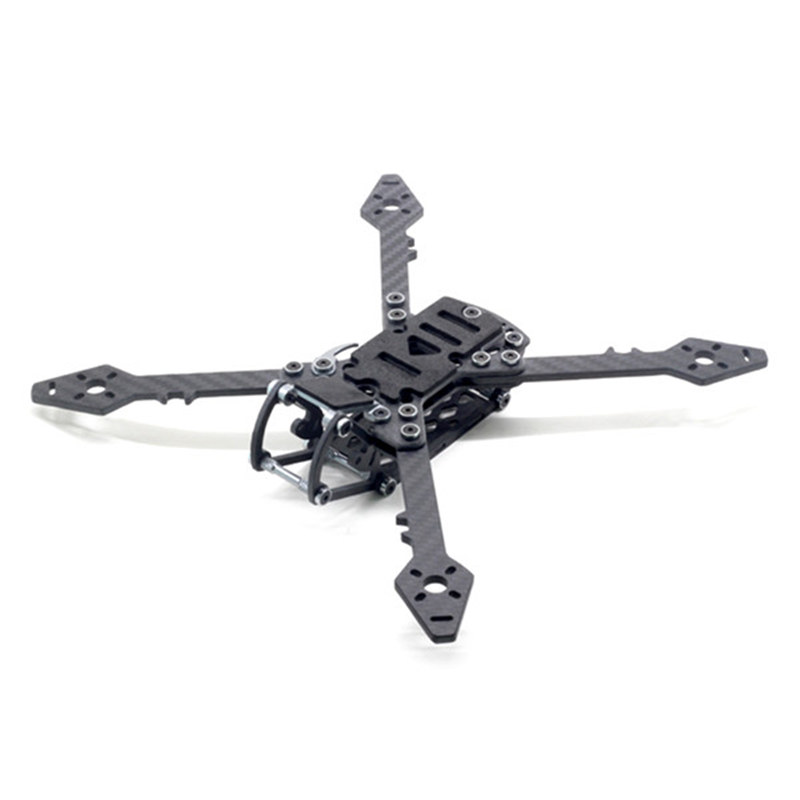 HSKRC Freestyle 250 248mm Carbon Fiber True X Type RC Drone FPV Racing Frame Kit For RC Models Multicopter Motor ESC 118g