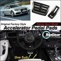 Ускоритель автомобилей Педаль Pad/Крышка Оригинальных Заводских Спортивных гонки Модель Дизайн Для Audi A6 C7/S6 2012-2013 настройка