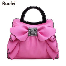 New designer brand bag ladies high quality PU handbag dress solid messenger mini lady purse and E197