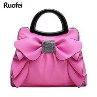 New designer brand bag ladies high quality PU handbag dress solid messenger bag mini bag lady messenger purse and handbag E197