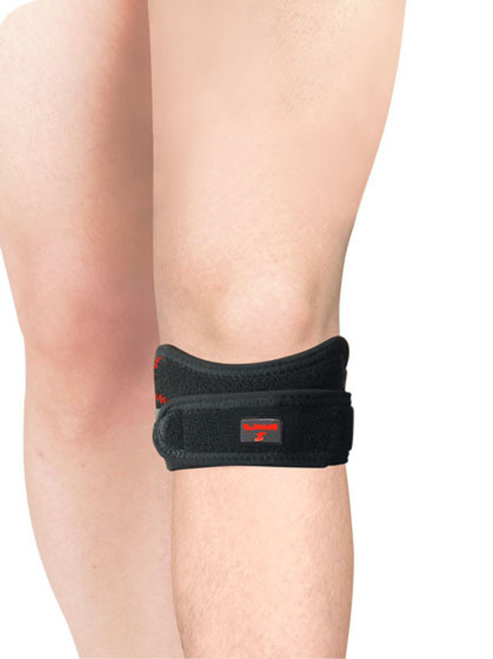 cfa534d7ca D40 1 PCS Adjustable Knee Patellar Tendon Support Strap Knee Brace Pads