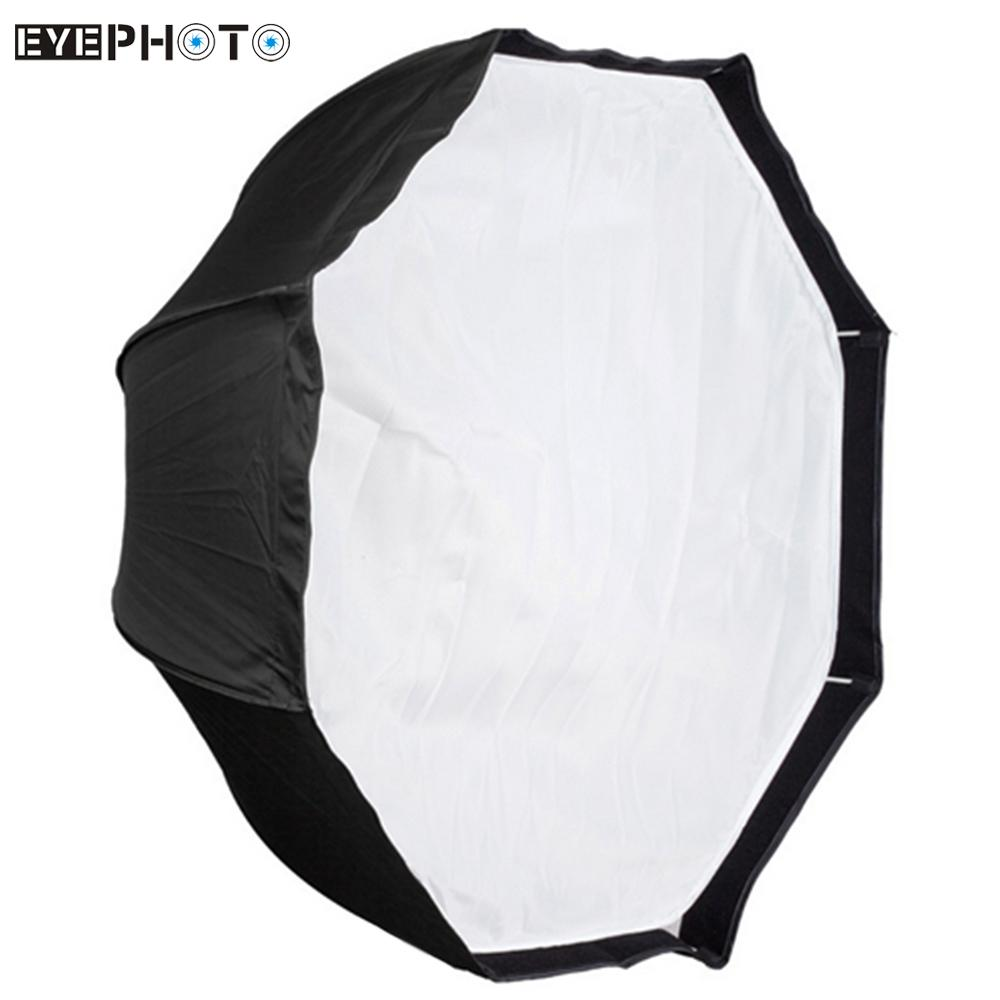 "Prix pour Ruissa Livraison 120 cm/48 ""Portable Pliable Octogone Parapluie Softbox Diffuseur Réflecteur pour Photo Studio Flash Speedlite Éclairage"