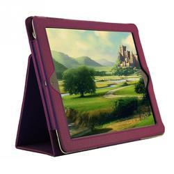 1 шт. кожаный защитный чехол с рисунком личи для iPad 2/3/4 с функцией Smart Sleep Wake Up