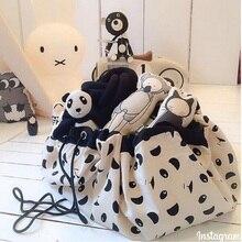 INS взрыв бороды и лица медведя большие сумки для хранения сумки для игрушек можно использовать, когда сумки для ковров