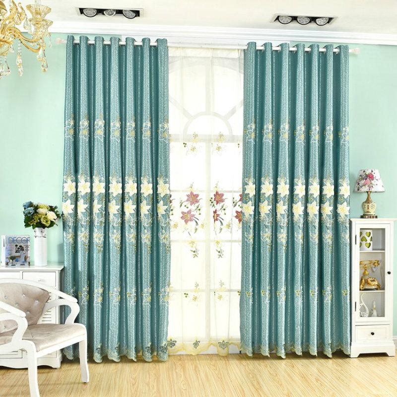 gelb vorhänge schlafzimmer-kaufen billiggelb vorhänge ... - Wohnzimmer Gelb Blau