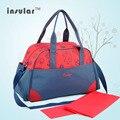 2016 Новый 2 цвета мать сумка Пеленки сумки для мамы ребенок большой емкости подгузник сумки организатор коляска для мумия материнства мешок