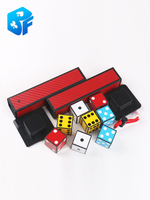 Fism prediction dice dice miracle close up magic tricks stage magic props