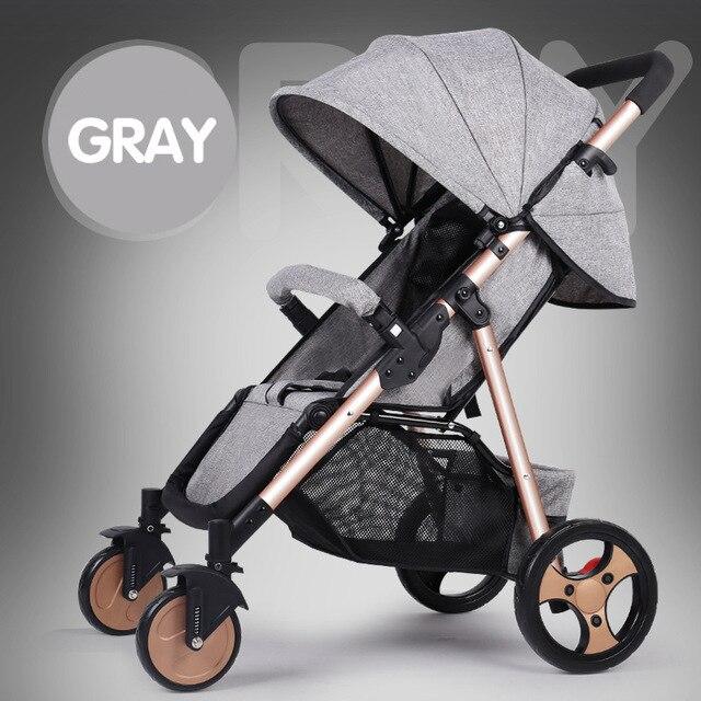 SLD bébé poussette léger et pratique pliable peut voler belle haute qualité envoyer au monde