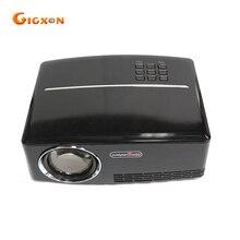 Gigxon-G88 nuevo proyector portátil led proyector del teatro casero 1800 lúmenes pequeño proyector