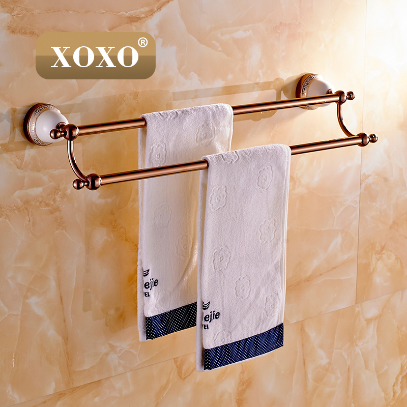 Towel Bar,Towel Holder,Solid Brass Made, Gold Finished,Bath Products,Bathroom Accessories 10024DGT-1 free shipping solid brass made golden finish double towel bar towel holder towel rack bathroom accessories products og 27848c