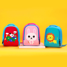 Amusive Animal Printed Colorful Neoprene Toddler's Backpack