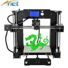 2018 Anet A6 A8 3D Printer Kit Big Size High Precision Reprap i3 DIY Three-dimensional 3D Printing Machine with Free Filaments