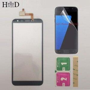 Image 4 - Moible Smartphone מסך מגע מגע מסך עבור Oukitel C8 C 8 מגע מסך Digitizer פנל קדמי זכוכית חיישן מגן סרט