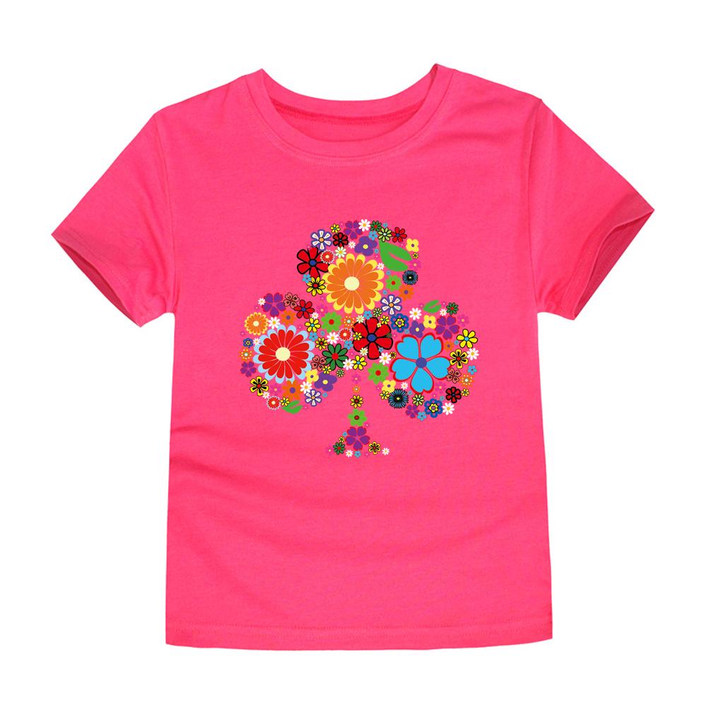 HTB1RTDURFXXXXcWXVXXq6xXFXXXp - TINOLULING 2018 Summer Kids Flower Tree T-Shirt Boys Girls Tree T Shirt Children Tops Baby Tees For 2-14 Years