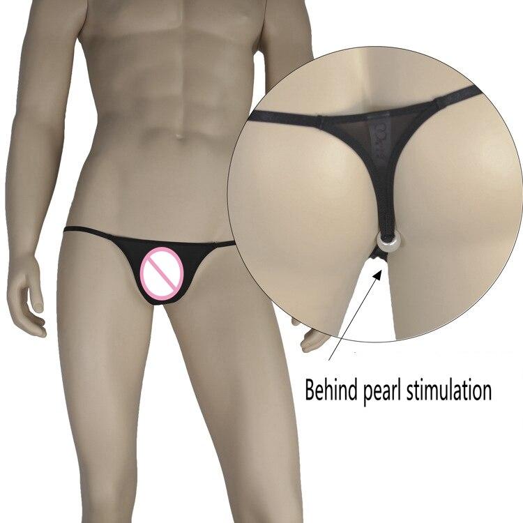 Men Sexy Gay Underwear Thongs Fashion G Strings Mens Low Waist Smooth Ice Silk Thong Jockstrap Gay Men Underwear Cueca Gay
