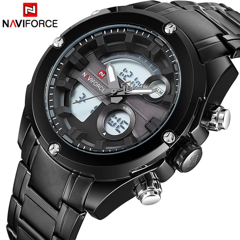 b03c187a352 ̿̿̿(•̪ )NAVIFORCE Mens Relógios Top Marca de Luxo Relógios Homens ...