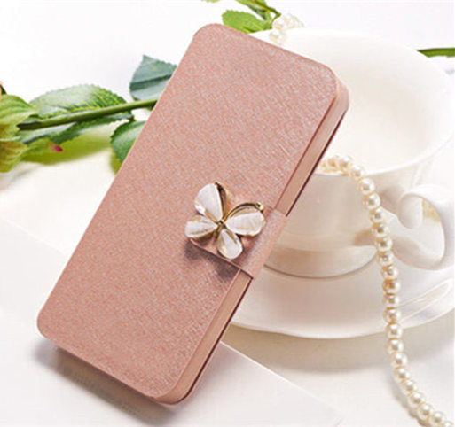 High Quality Original Case For Meizu MX2 M040 Phone Bag Flip Cover Case With Three Kinds Of Diamond Buckle Style Bag