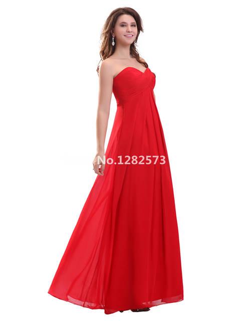 2c8b5aeb81 Cheap Simple Red Chiffon Evening Dress Empire Waist Formal Evening Dresses  Long Pregnant Women Gowns Women Gown Fashion
