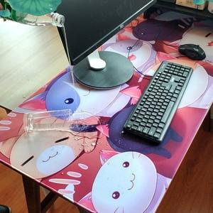 Image 5 - 슈퍼 마블 마우스 패드 잠금 가장자리 게임 마우스 패드 영웅 철 남자 퀘이크 안티 슬립 천연 고무 매트 애니메이션 마우스 패드 pc 게이머