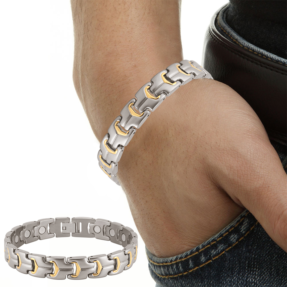 titanium bracelet for men and women (14)
