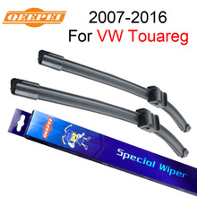 QEEPEI Specific-Fit Wiper Blade For Volkswagen Touareg 2007-2016 26''+26'' Car Accessories For Auto Wipers Blade,CPA114-2
