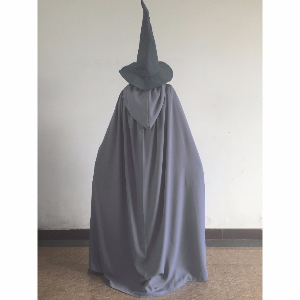 Custom-Made Halloween Lord Of The Rings Gandalf Wizard Cosplay Costume Full Set
