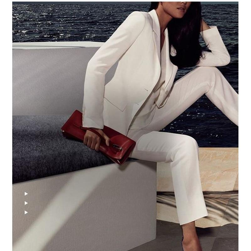 White font b Women b font Ladies Custom Made Business Office Tuxedos Work Wear Suits Bespoke