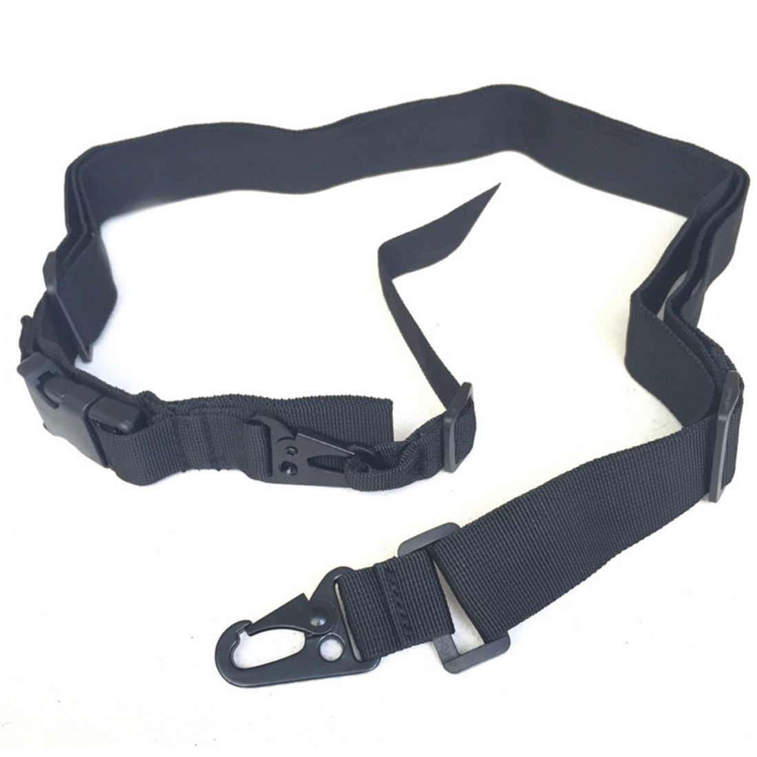 Verstelbare multifunctionele Drie Punt Tactical Rifle Sling Jacht Nylon Gun Strap Tactical Airsoft Mount Bungee Systeem Kit