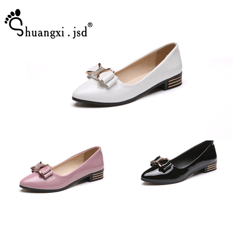 Women Shoes 2018 Summer New Pink Pumps Women Shoes Bow Shallow Mouth Work Black Elegant Woman Shoe 35-40 Zapatos mujer shuangxi jsd luxury designer shoes women pumps 2018 new black heels work leather shoes high quality woman shoe zapatos mujer