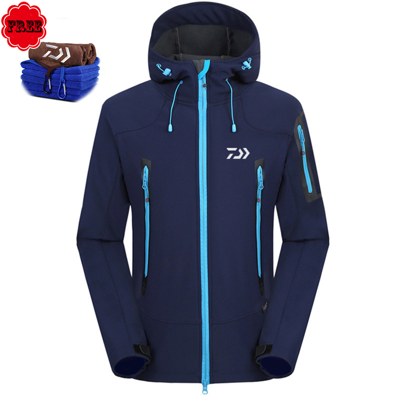 Winter Outdoor Fishing Clothing Sports Men Parka Keep Warm Sunproof Fishing Clothes Jacket And Pants for Mountaineering Fishing