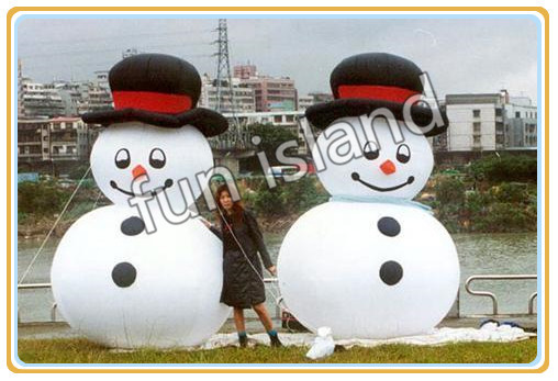 Giant inflatable snow man for advertising/decoration/promotion christmas decoration free shipping inflatable cartoon customized advertising giant christmas inflatable santa claus for christmas outdoor decoration